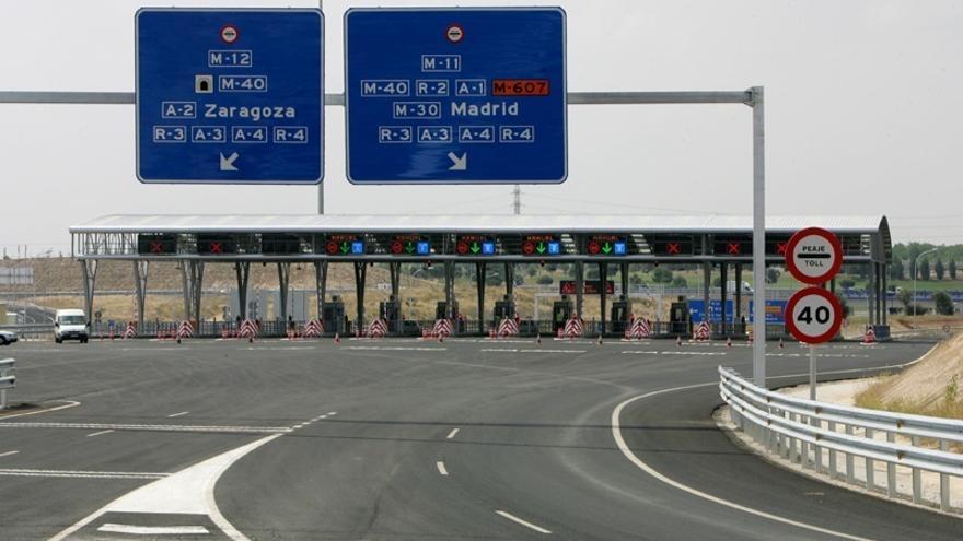 El peaje de las autopistas sube casi un 2% en 2018 tras dos años de descensos