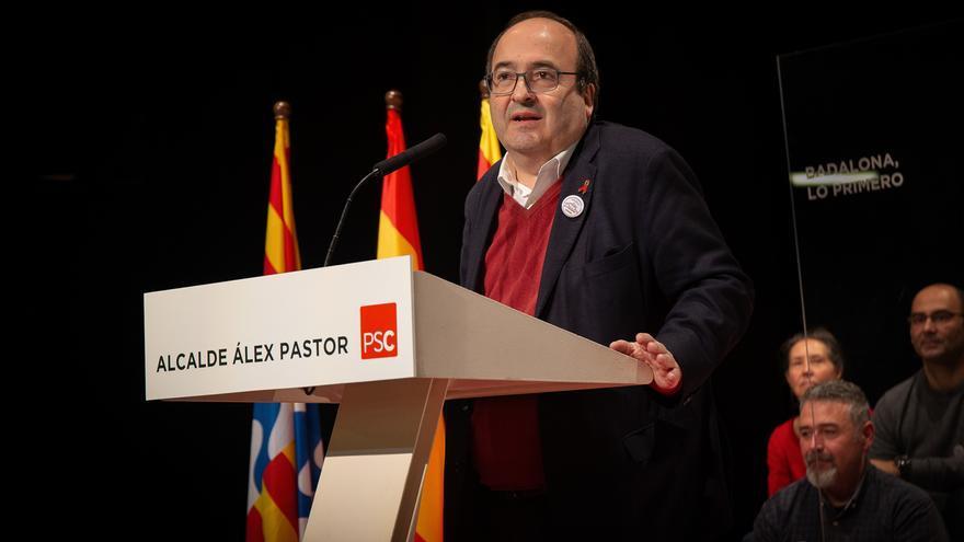 Iceta cree que Vox puede entrar en el Parlamento catalán como respuesta al independentismo