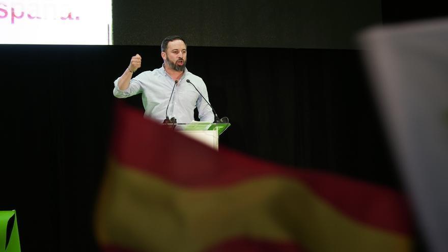"""Abascal defiende que """"solo hay dos opciones"""": la """"continuidad histórica"""" de España o un """"frente popular"""""""