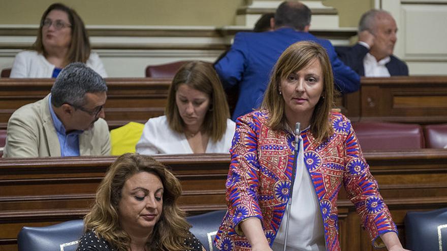La consejera de Política Territorial, Sostenibilidad y Seguridad, Nieves Lady Barreto