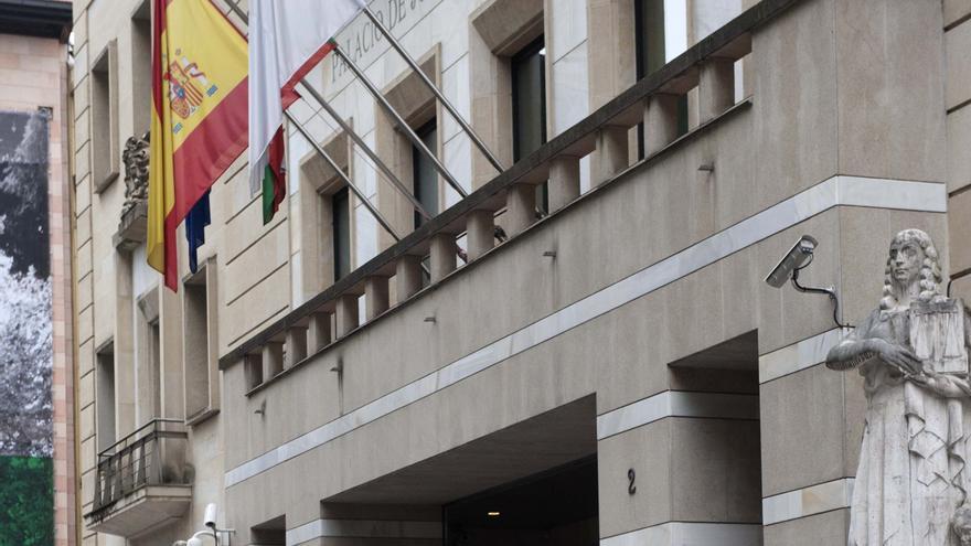 Sede del Palacio de Justicia de Bilbao./EDN
