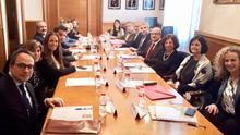 La reunión de representantes de la abogacía con el TSJC