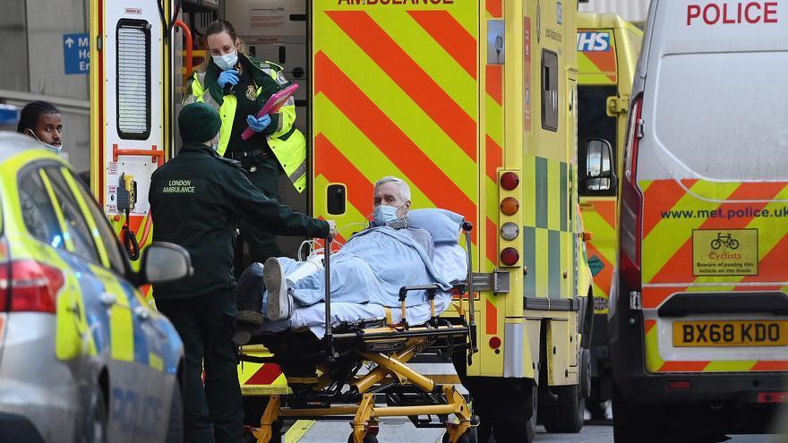 El Reino Unido registra 1.041 muertos por la covid en las últimas 24 horas