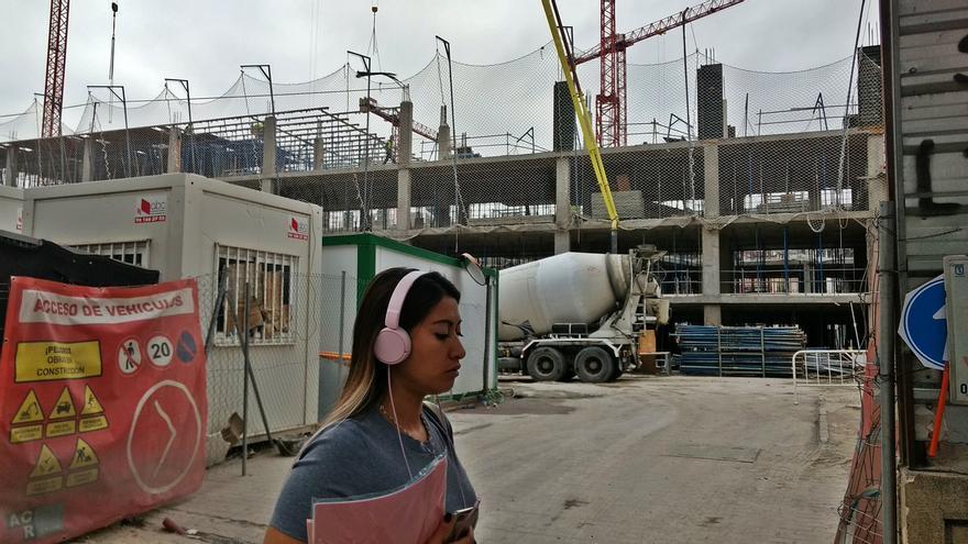 Entrada al antiguo TPA, en obras para construir una urbanización residencial | SOMOS CHAMBERÍ