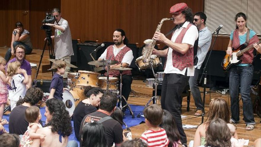 Concierto para niños en el Palau de la Música