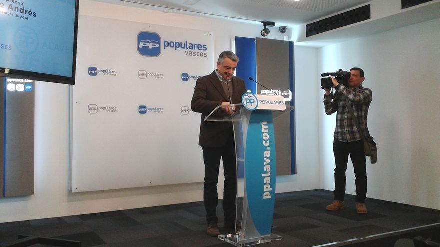 """PP vasco cree que quienes reclaman una reforma de la Constitución """"se quieren cargar España y el modelo de Estado"""""""