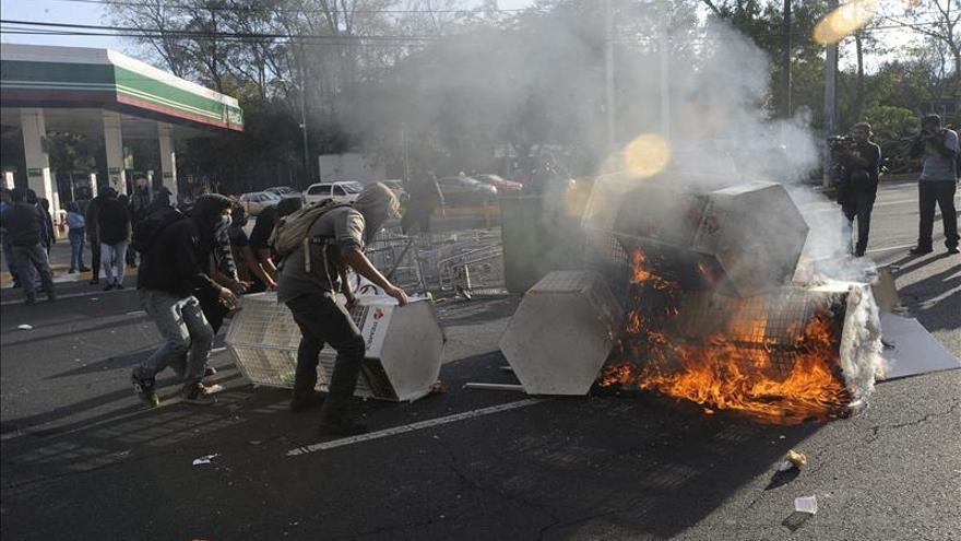 El Gobierno mexicano da señales de impaciencia con los actos violentos en las protestas