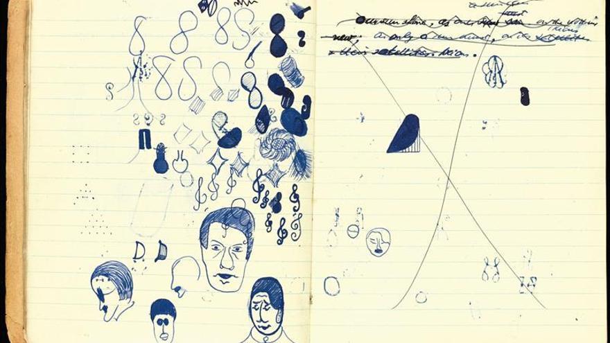 """A subasta un manuscrito de """"Murphy"""", la primera novela de Samuel Beckett"""