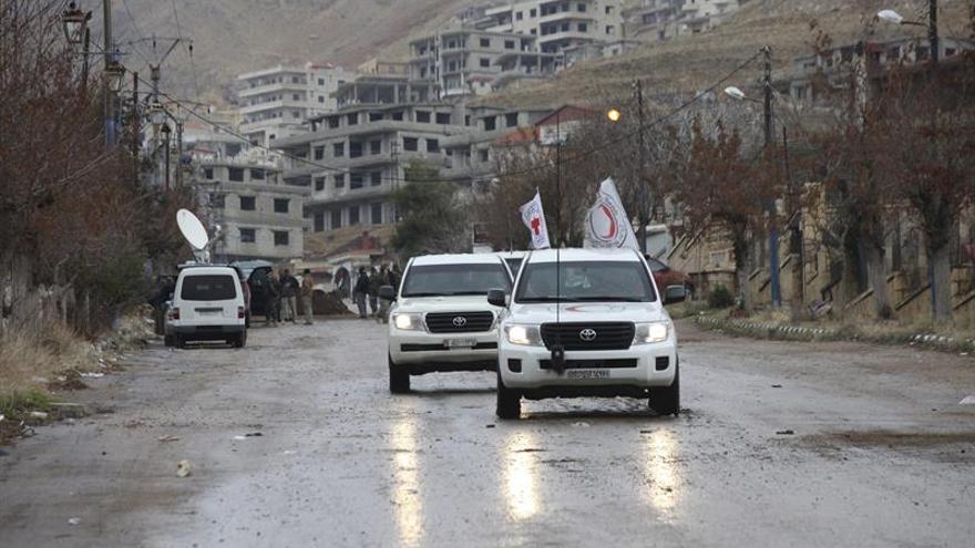 Retenido y liberado horas después un convoy de la ONU cerca de Trípoli