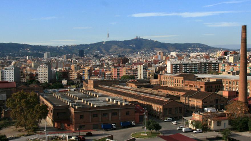 Imagen de Can Batlló, en el distrito de Sants. / Xabi Corbella
