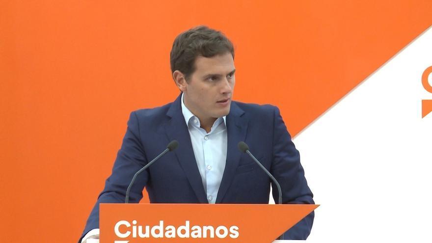 Albert Rivera traslada a Rajoy el apoyo a Ciudadanos ante el 1-O y le pide aplicar la ley y evitar otro 9-N