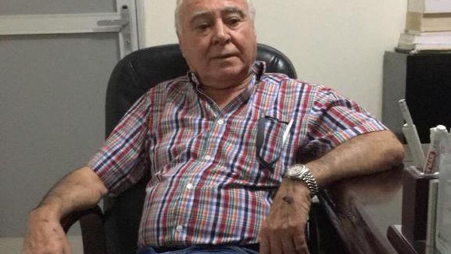 Bruno Naranjo Montesdeoca, empresario grancanario estafado en Mauritania y desamparado en Canarias.