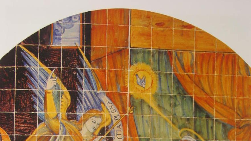 Retablo de la Anunciación FOTO: 'Museo de Cerámica Ruiz de Luna' JCCM