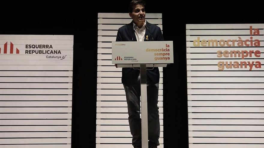 Sabrià (ERC) apuesta por un Govern de concentración que incluya a la CUP