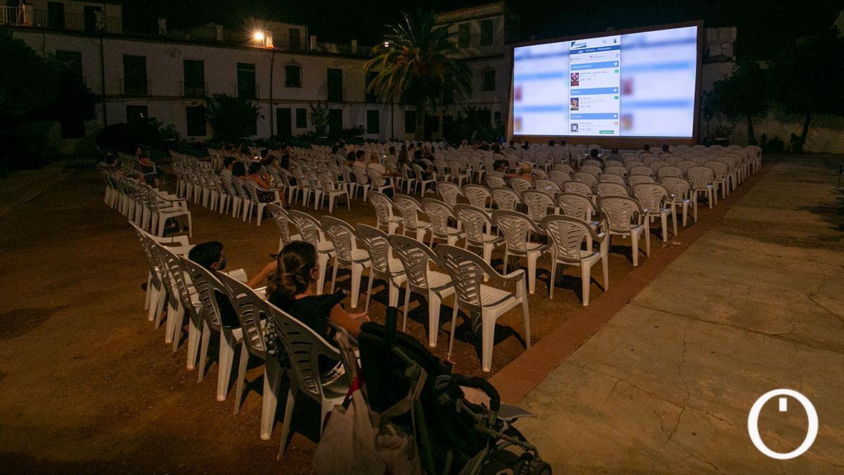 Cine de verano El Coliseo San Andrés