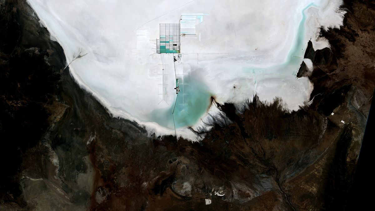 Mina de litio Salar de Uyuni, en Bolivia
