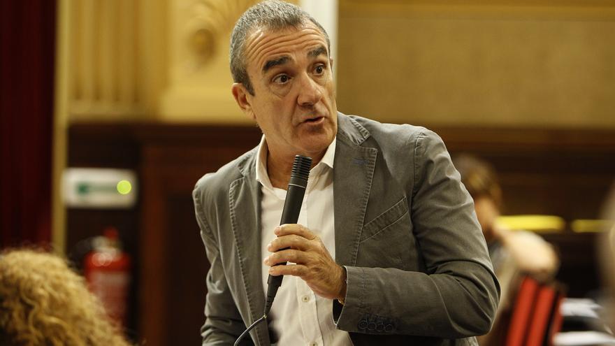 Archivo - El conseller de Transición Energética y Sectores Productivos, Juan Pedro Yllanes.