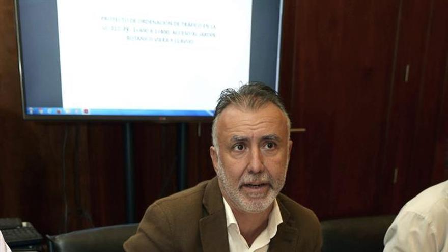El vicepresidente del Cabildo de Gran Canaria, Ángel Víctor Torres. EFE/Elvira Urquijo A.