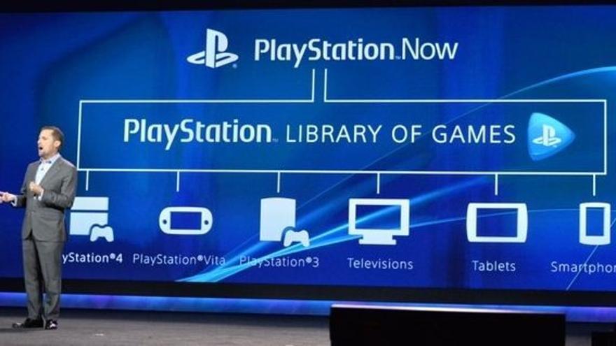 PlayStation Now Presentacion CES 2014