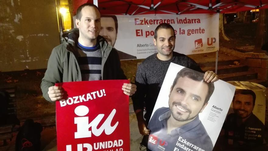 """Ezker Anitza-IU Unidad Popular pide el voto """"para llevar la voz de la clase trabajadora"""" al Congreso"""