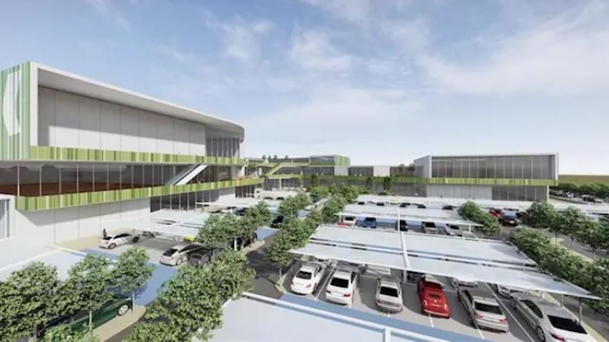 Proyecto del centro comercial de Cáceres