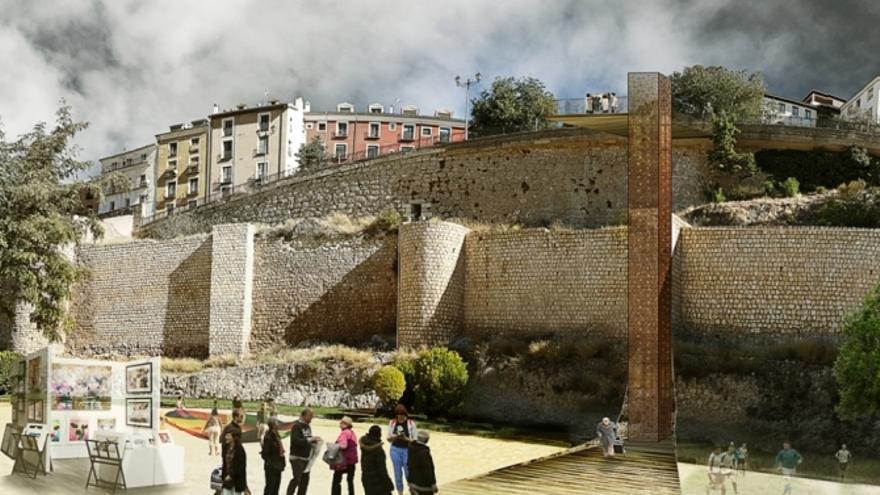 Ochenta años esperando modernizar la accesibilidad al Casco Antiguo de Cuenca