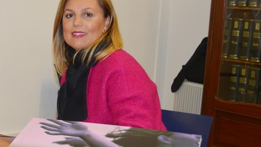 La concejal Elena Pais.