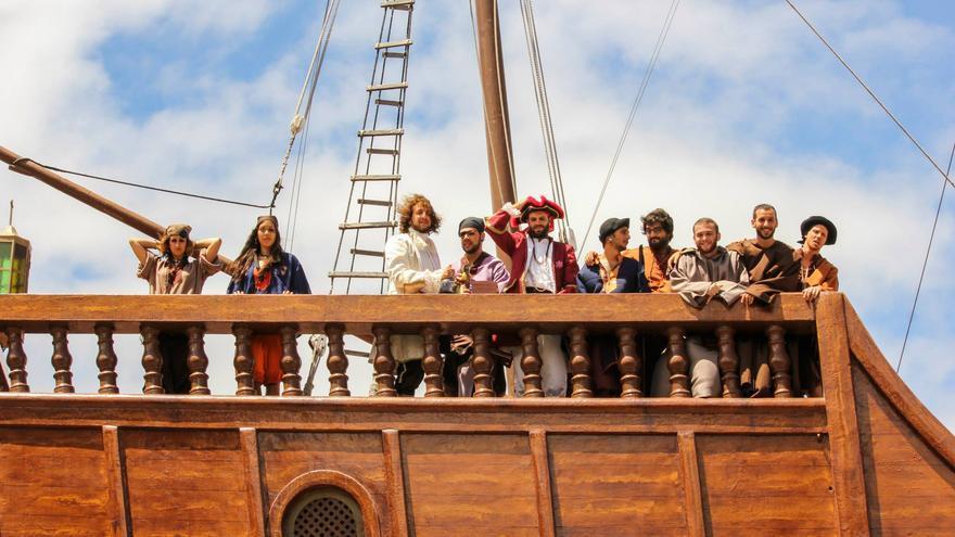 Escena en el Barco de la Virgen en 2014. Foto: AIRAM PLATA TORROGLOSA