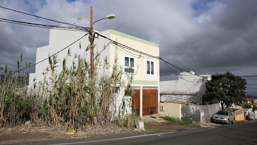 La casa ubicada en la localidad teldense de Lomo Magullo