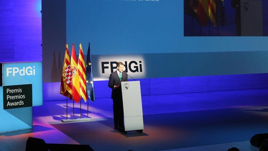 El Ayuntamiento de Gerona rechaza una moción de ERC para declarar al Rey 'persona non grata'