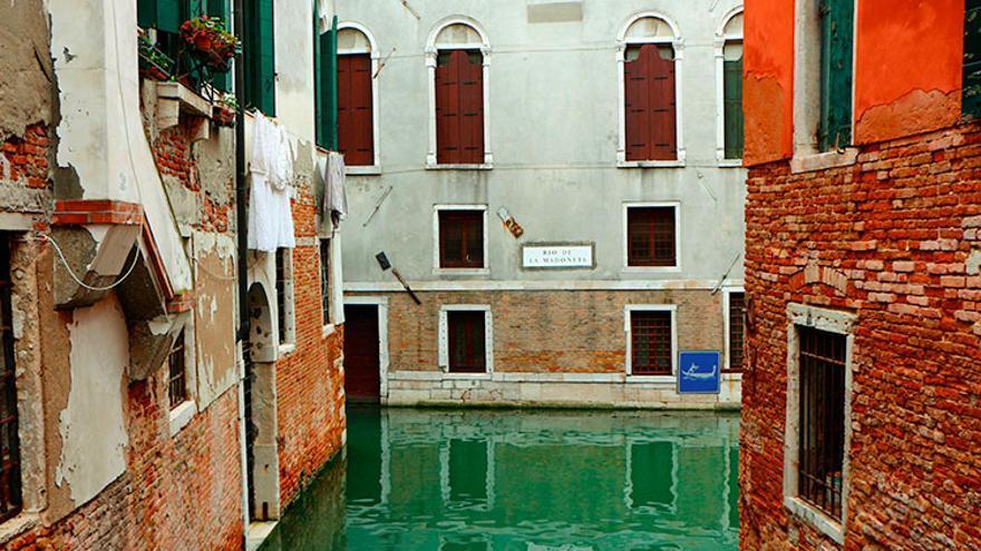 Uno de los canales de Venecia.