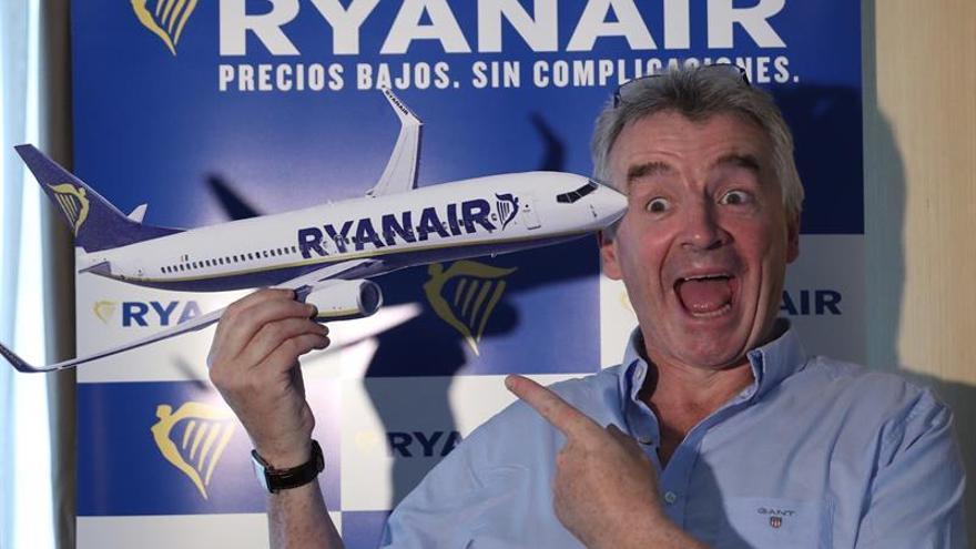 El consejero delegado de Ryanair, Michael O'Leary, en una imagen de archivo.