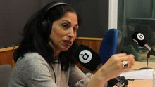 La periodista Fani Grande en À Punt radio