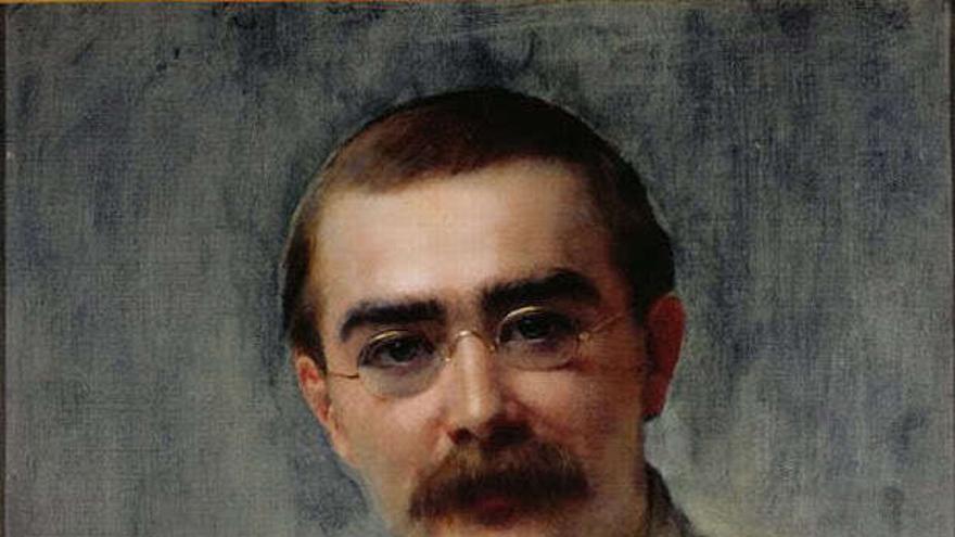 Rudyard Kipling. // Foto: Flickr. Art Gallery ErgsArt