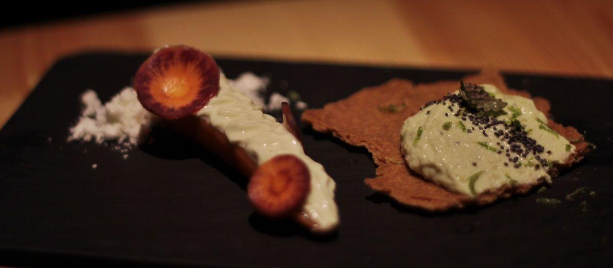 Zanahoria y edamame, los entrantes | R.A.