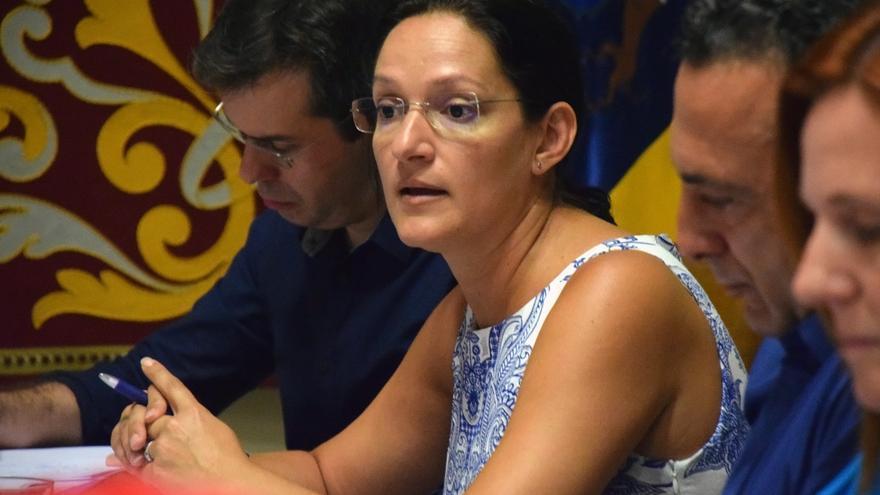 Zaida González, concejala de Urbanismo en Santa Cruz tras la destitución de Garcinuño