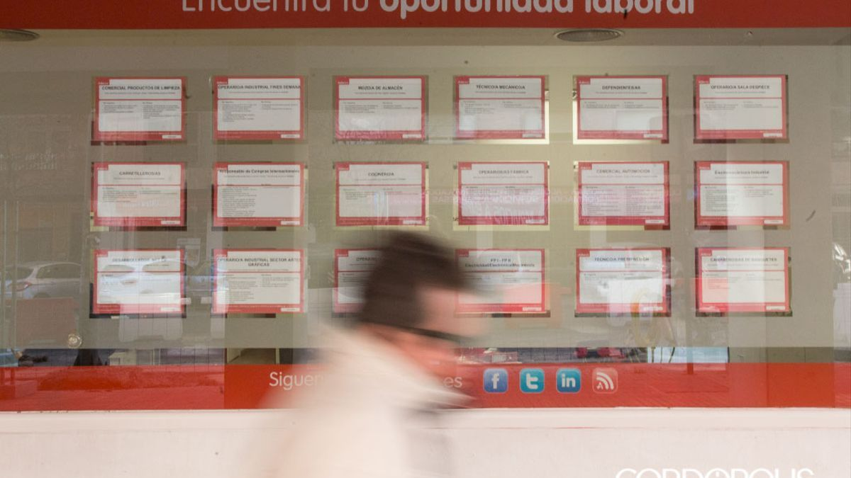 Oficina de empleo en Córdoba.