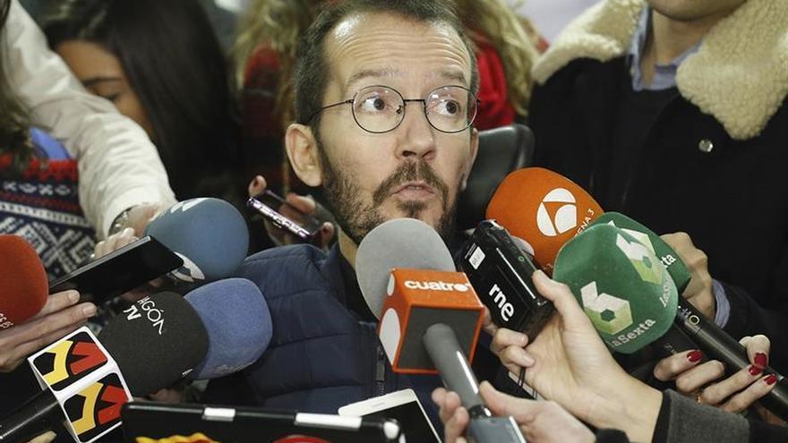 """Echenique asegura que los """"errores"""" de Podemos no afectan a su pluralidad"""