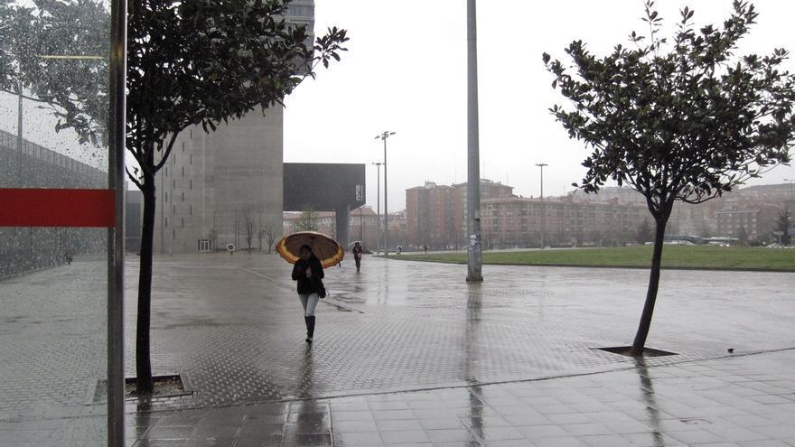 Euskadi se mantiene en aviso amarillo por precipitaciones intensas desde las dos a las siete de la tarde