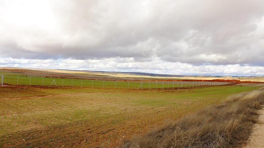 Terrenos colindantes al proyecto de basurero nuclear, ya paralizado