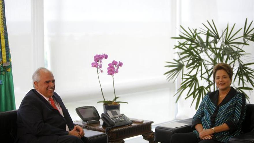 """Rousseff y Samper quieren una Unasur más """"actuante"""" en lo social"""