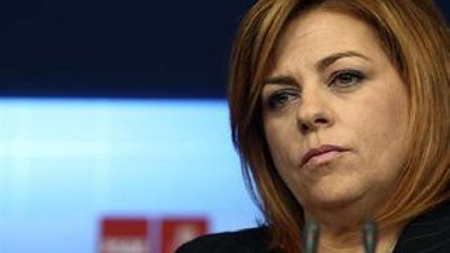 Elena Valenciano, portavoz del Comité Electoral del PSOE. (EP)
