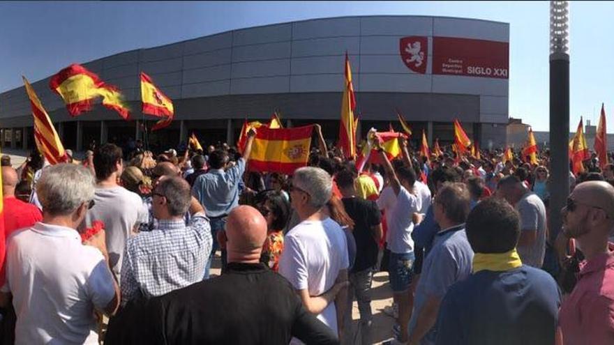 Concentración ultra en Zaragoza