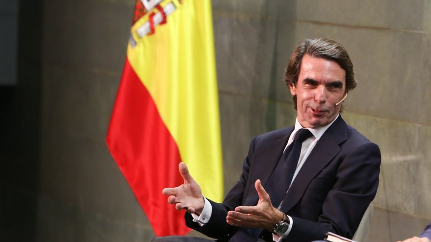 Aznar RICARDO RUBIO EUROPA PRESS