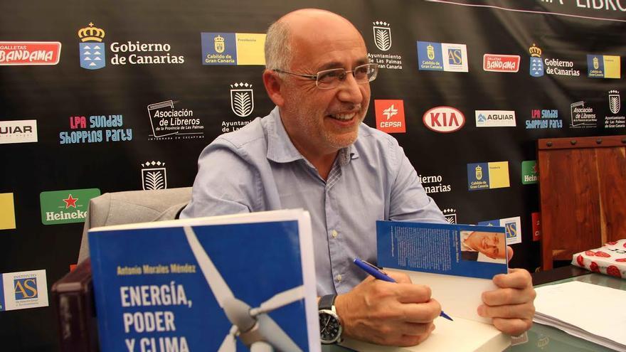 Antonio Morales, alcalde de Agüimes y candidato de Nueva Canarias a presidir el Cabildo de Gran Canaria.