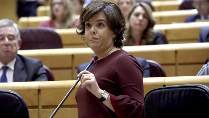 S. Santamaría explicará en el Senado la gestión del 155 a tres días del 21D