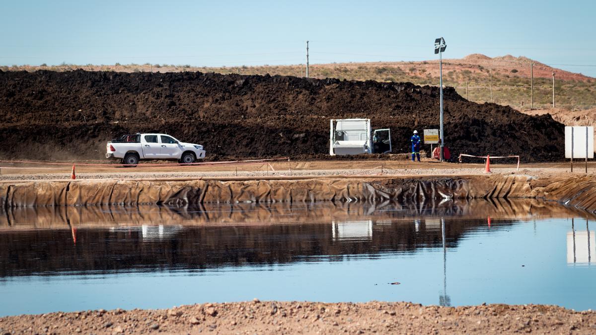 Comarsa, una planta de tratamiento de residuos petroleros.