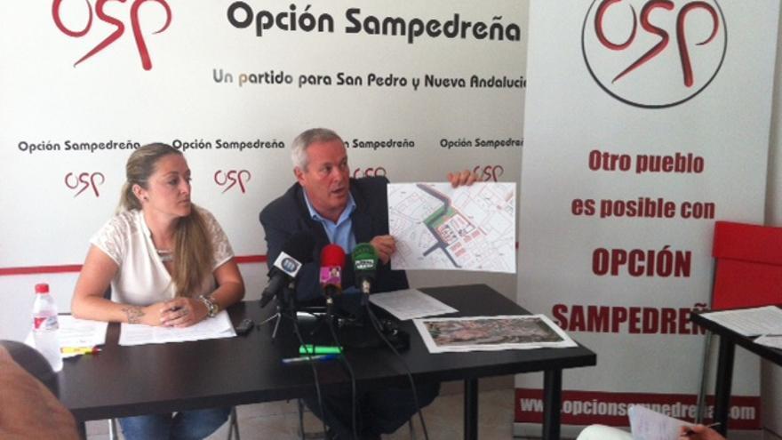 Rafael Piña y Gema Midón, ediles de OSP