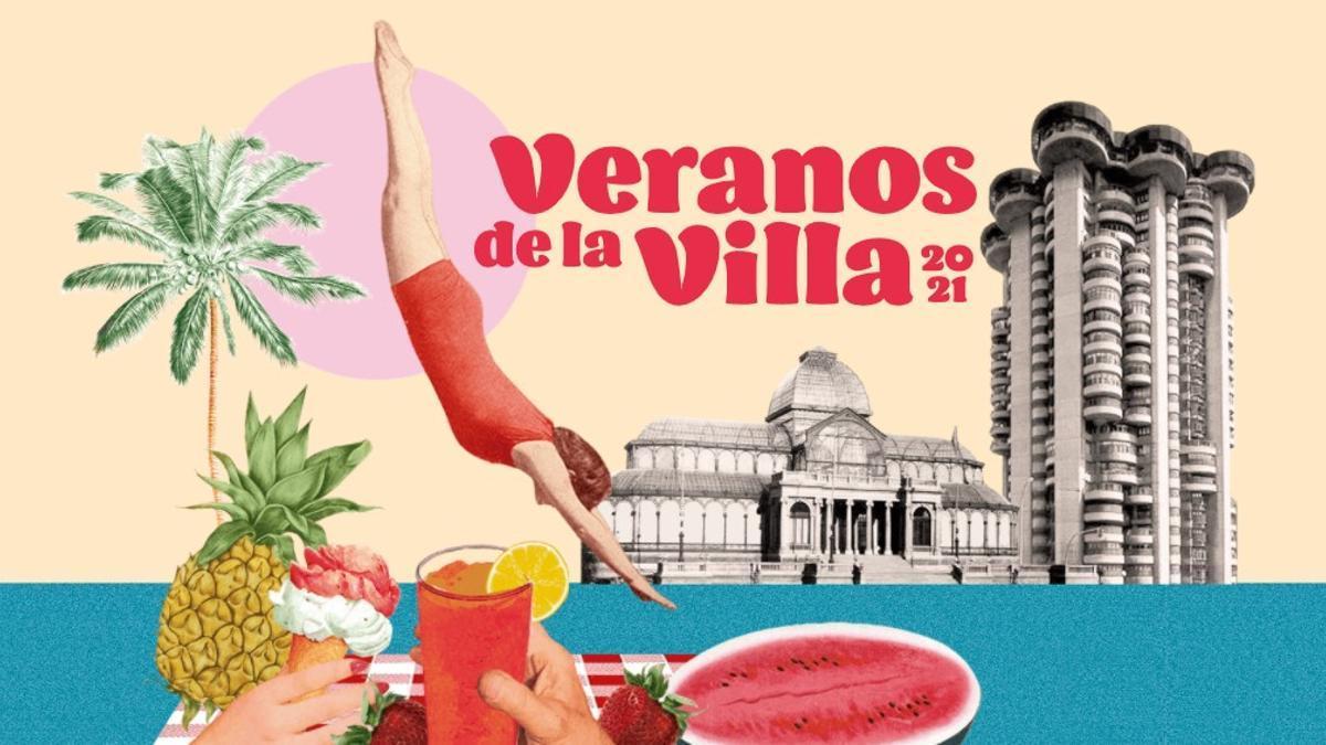 Cartelería de los Veranos de la Villa 2021