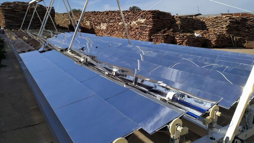 Cicytex energía solar corcho
